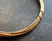 24 gauge Antiqued Brass Wire - 10 feet