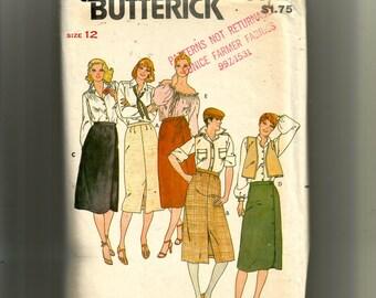Butterick Misses' Skirt  Pattern 6345