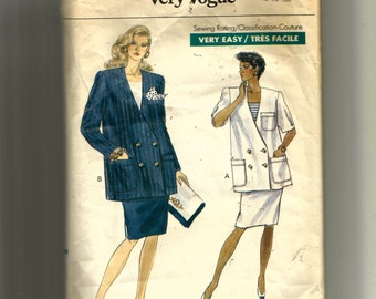 Vogue Misses' Maternity Jacket and Skirt Pattern 7704