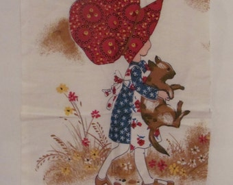 Vintage Holly Hobby Fabric