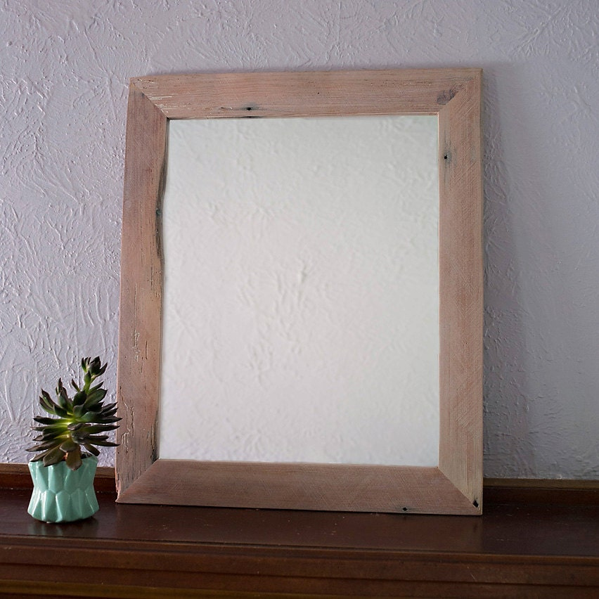 wood framed mirrors for bathrooms reclaimed wood mirror large 30x34 vanity mirror bathroom 24720