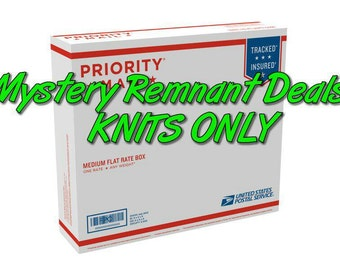 Remnant padded pack knits medium flat rate box full