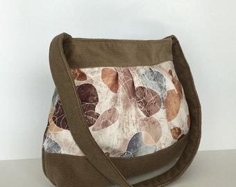 Women shoulder bag, Vegan fabric purse, Colorful side bag, Shoulder purse, Casual day bag, Spring bag, Fashion gift, Vegan bag, Wife gift