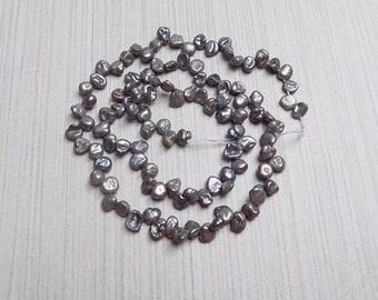 Grey Keshi Pearls