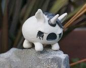 Porcelain Deathicorn Desk Pet