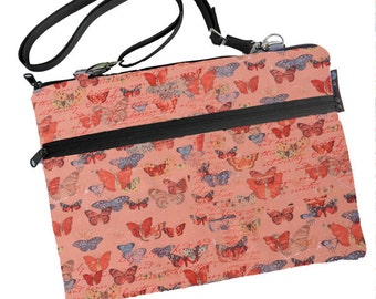 "Retina 13"" Laptop Case Sleeve Bag MacBook Air 13 inch sleeve / MacBook Pro 13 inch Case / FAST SHIPPING/Washable Butterfly Kisses Fabric"