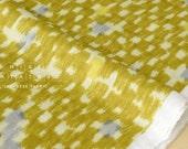 Japanese Fabric Kokka rayon double gauze Lake - mustard - 50cm
