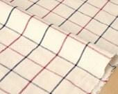 Japanese Fabric - Tattersall check - multi - 50cm
