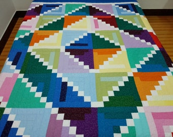 Twin size Patchwork Complete Quilt