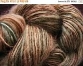 Almost SPRING CLEARANCE OLD Oak Handspun Wool Yarn Coopworth 128yds 3.25oz 8-9wpi aspenmoonarts knitting art yarn