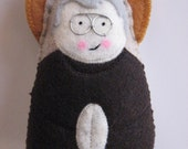 Custom Listing for  Matreshka....Saint Maximilian Kolbe....Felt Softie