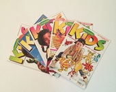 Crayola Kids Magazines 1990's 5 issues with craft ideas