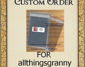 Custom Order for AllThingsGranny - CBA2+ - 400 BOPP Cello Bags 4 5/8 x 5 3/4 - A2 Card with Envelope - Self Sealing - Packaging, Storage