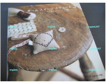 Japanese Craft Pattern Book  Handmade  Home Zakka sewing and embroidery stitching