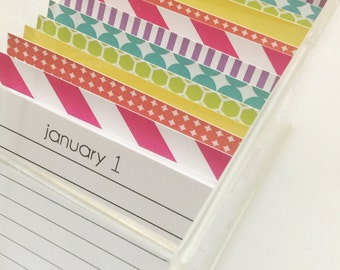 Daily Journal in Arcylic Box