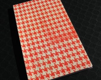 Houndstooth  - Softcover Notebook Journal