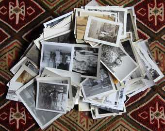 Vintage Photos.  Huge Lot of 300+ Vintage and Antique Photos. Snapshots. Vernacular. Perfect for Art. Projects. Great Supplies.