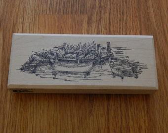 "SUT - H1684WAT The Boat Dock - 2"" tall x 5.75"" wide - 1 pc"