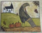 Fall Turkey and Church
