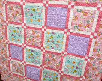 Princess Playtime Quilt Throw Blanket