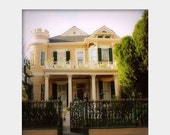 Holiday Sale Cornstalk Hotel: fine art photograph print of New Orleans antebellum home (house with porch in the French Quarter)