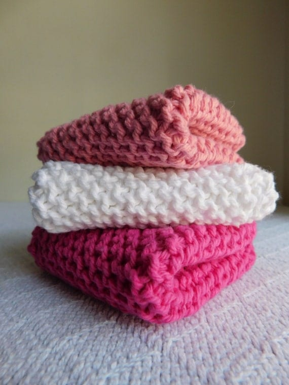 Valentine Dishcloth Trio