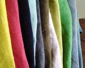 LINEN BUNDLE / linen scraps / remnants / linen fabric / runningthreads