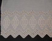 Cotton Peach Colored Trim Edging Lace 3 Yards FREE SHIPPING
