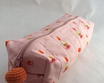 Gnome boxy zipper pouch FREE SHIPPING