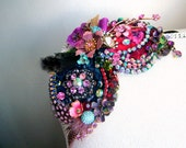 Enchantment - OOAK Brooch/hairpiece - Ready to ship xx