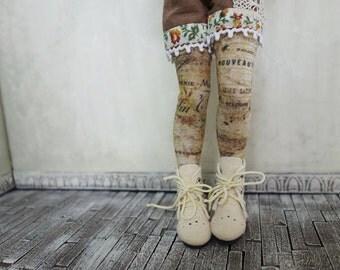 Ephemera Blythe Doll Stockings