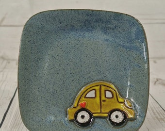 VW Beetle Lunch Plate