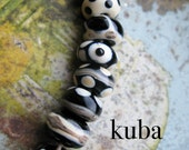 kuba  //  handmade glass beads //  Ellen Dooley SRA