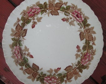 Vintage Floral Plate - Wedgwood Wildbriar - Made In England