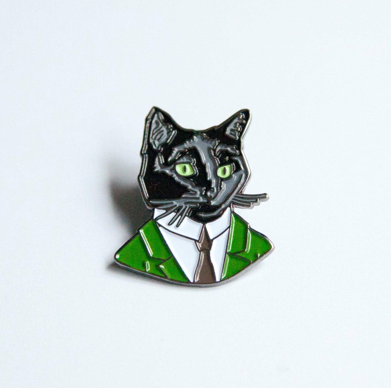 pin 3d black cat - photo #17