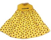 Dress Ladybug Fabric Embroidery Size 4 T