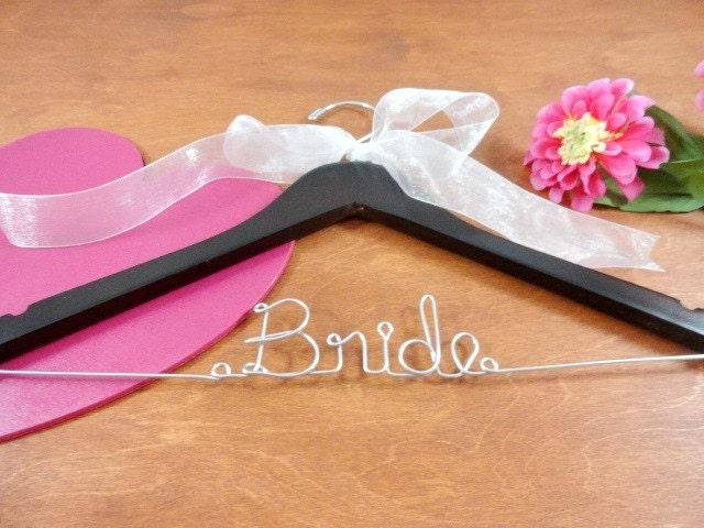Bride Wire Hanger Bride Coat Hangers Bridal Hangers Wedding