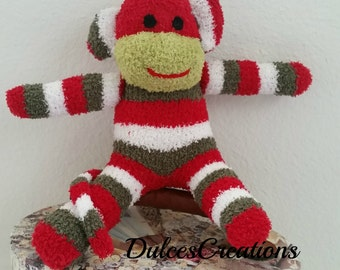 Noah the sock monkey ready to ship