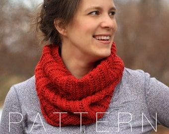 Crush On You Cowl (pdf knitting pattern)