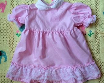 60s Baby Dress 12/18 Months