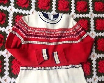 Girls Knit Dress 6/7