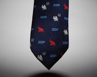 GOP Tie .  For Your Republic Friend .