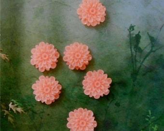 Miniature Flower Embellishment, Miniature Flowers, Fairy Garden, Miniature Garden, Terrarium Flower, Floral Supply, Coral Flower for Crafts