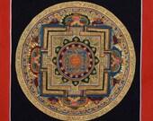 Mandala Thangka Painting from Nepal Non-Profit