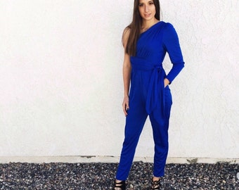 RESERVED FOR MAGGIERAMOS Morgan and Co. Party jumpsuit S