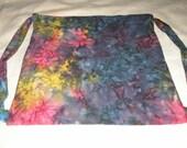 Rainbow Batik 2 Cinch Backpack