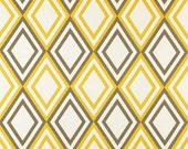 "MASSIVE FABRIC CLEARANCE Premier Prints Annie Corn Yellow/Kelp Slub - 56""W x 2 yd 29"" L"