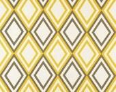 """MASSIVE FABRIC CLEARANCE Premier Prints Annie Corn Yellow/Kelp Slub - 56""""W x 2 yd 29"""" L"""