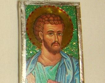 St Luke the Apostle Pendant inv1686