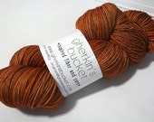 hand dyed yarn - Smart Luxe MCN Fingering - Maple colorway